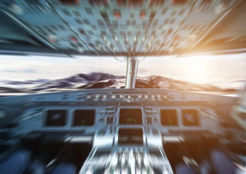 When it comes to stress and airplanes, it's best to focus on the task at hand — and not necessarily the people aboard. Photo courtesy of Shutterstock.