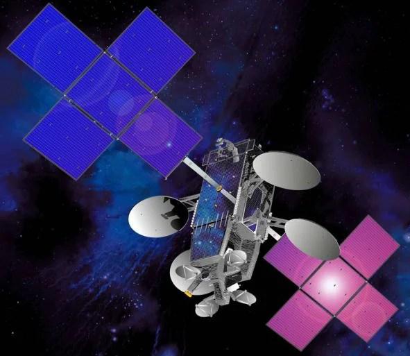ViaSat's ViaSat-1 satellite provides both Ka-Band and Exede Wi-Fi service on planes. Photo courtesy of ViaSat.
