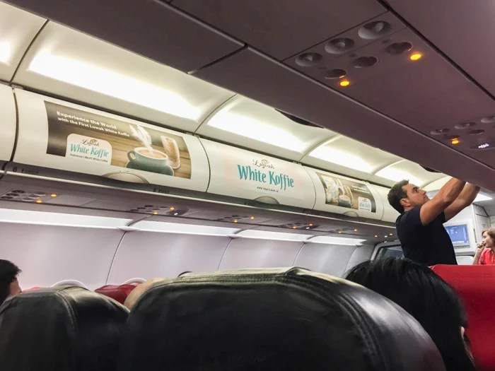 e2f2a3ada2c On-board advertisements provide an additional source of revenue for  low-cost airlines like