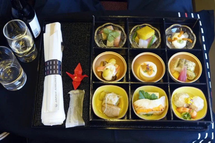 The Japanese menu starts with nine appetizers! Photo by Zach Honig.