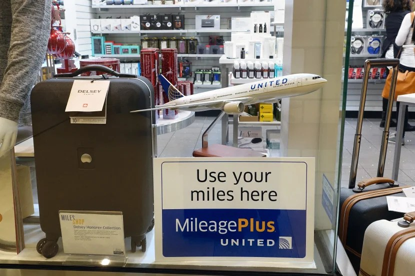 Don't miss the United Miles Shop!
