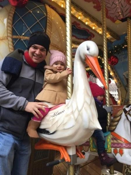 Evy and Nick Strasbourg carousel