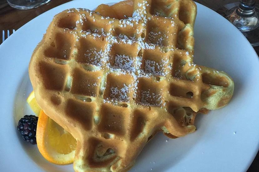 An Instagram-worthy Texas-shaped waffle.