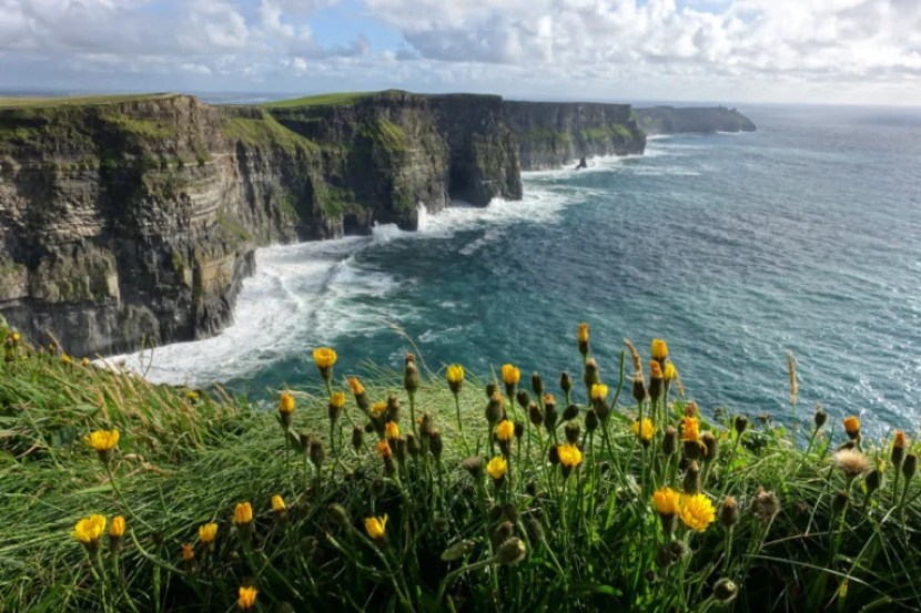 Take some time to get out of the city and visit spectacular sights like the Cliffs of Moher. Photo by Sarah Silbert.