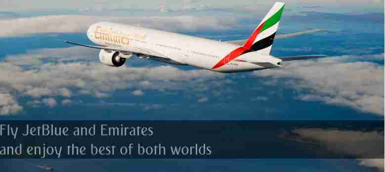 Save on Emirates and earn TrueBlue points.