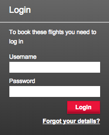 VS Flying Club login
