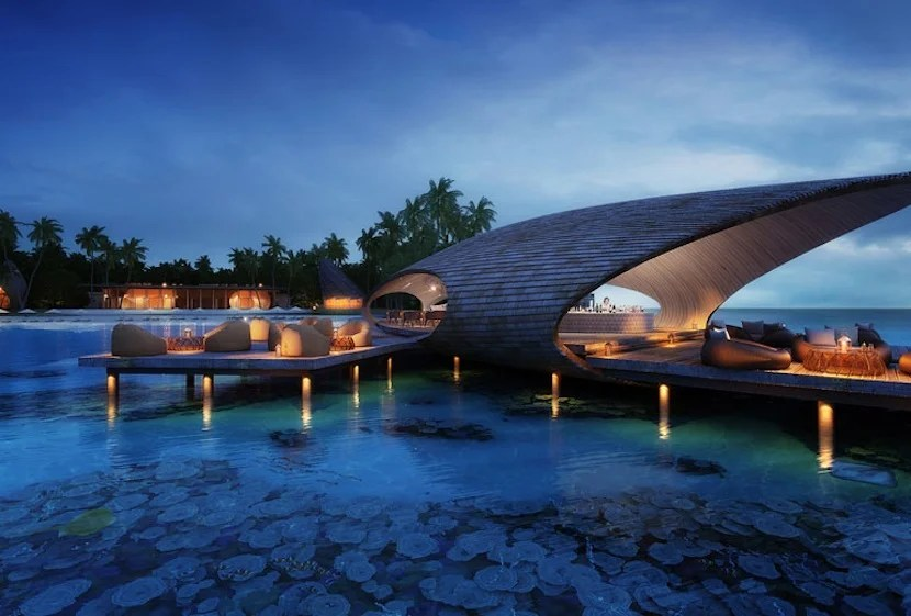 The Maldives are getting their first St. Regis hotel. Photo courtesy of Starwood.