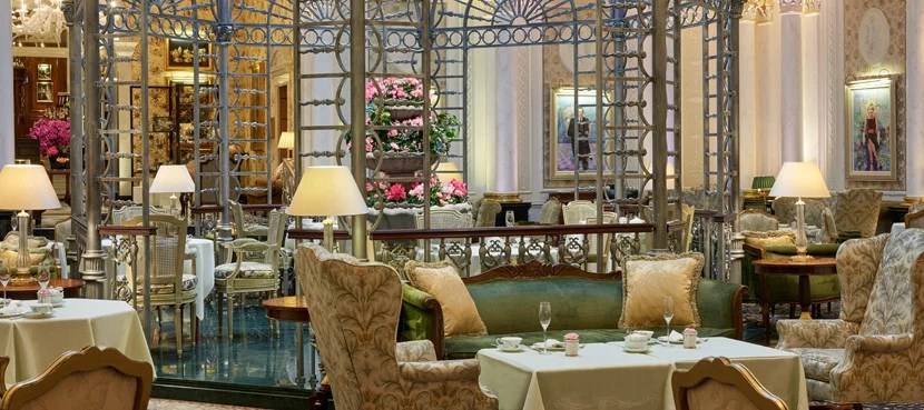 The Savoy in London, an Amex FHR property.
