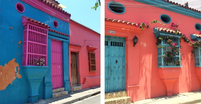 Within the walls of Old Town, Cartagena locals have some serious paint colors, and they aren't afraid to use them.