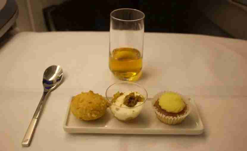 Dessert and Calvados, perfect together.
