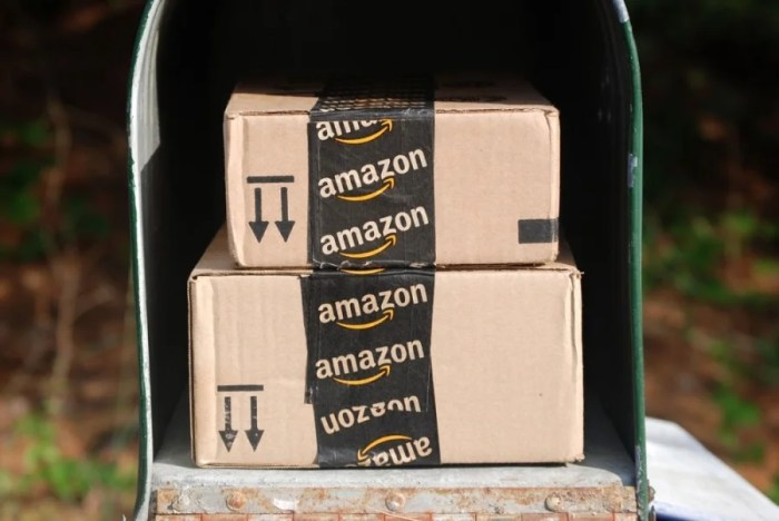 If Amazon starts making deliveries, perhaps they can deliver packages the right side up!