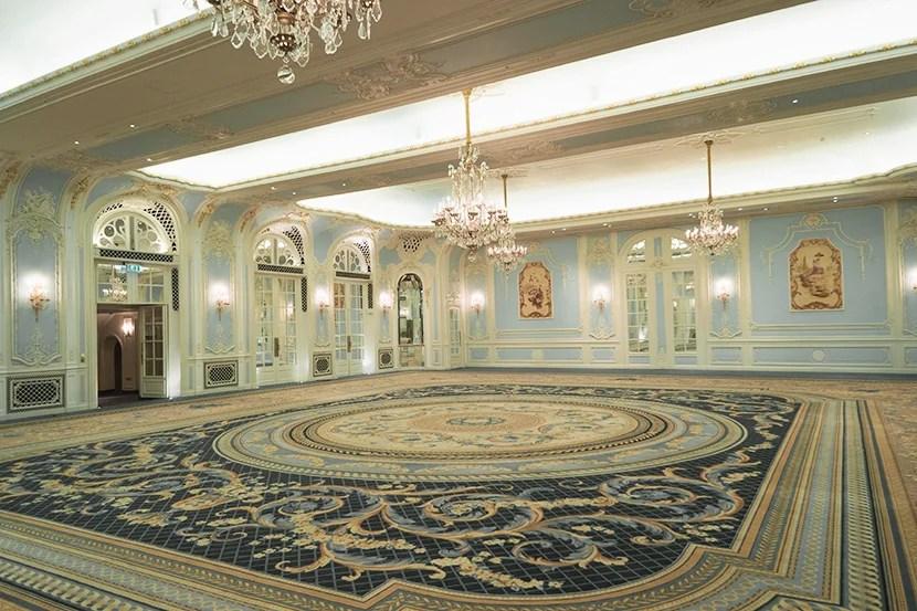 The Lancaster Ballroom at rest.