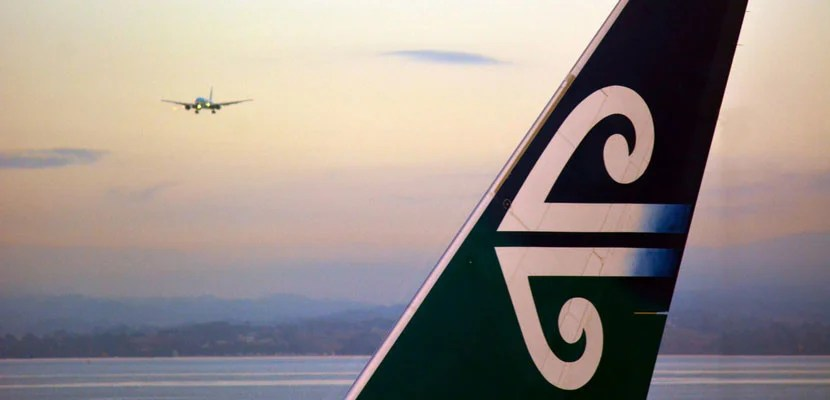Air New Zealand is a solid choice for trans-pacific flights. Image courtesy of Shutterstock.