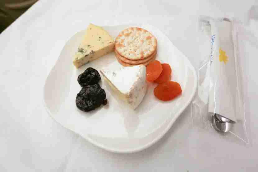 I chose the cheese plate for the first part of my dessert.