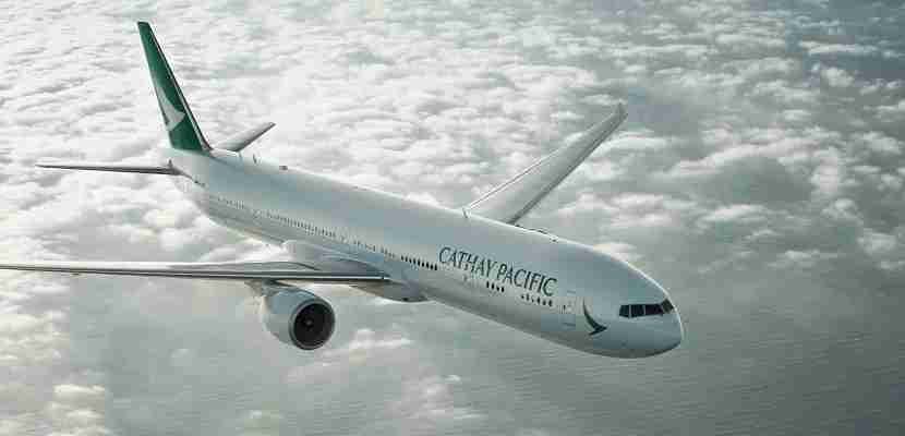 Cathay pacific plane boeing 777 featured
