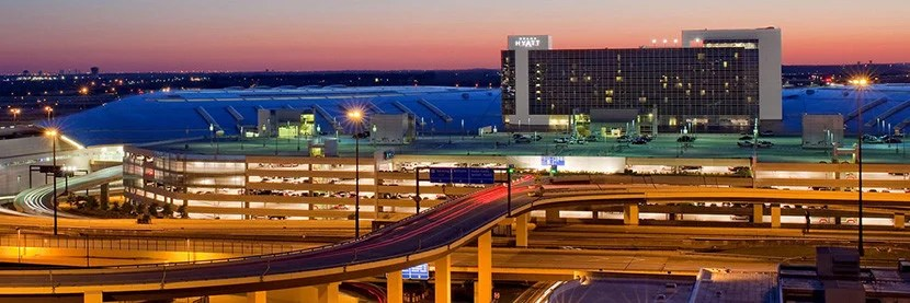 The Grand Hyatt is very conveniently located for early-morning flights and late arrivals.