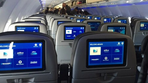 jetblue updates its cabins with new tvs and more
