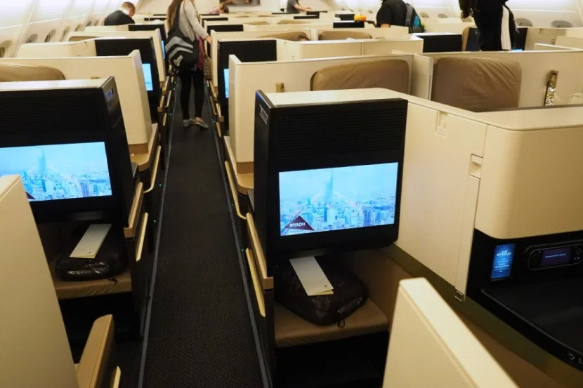 "Center seats in certain rows on Etihad's new aircraft are also ""honeymoon"" seats thanks to their proximity."
