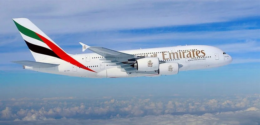 Fly the A380 to Dubai on Emirates from Washington.