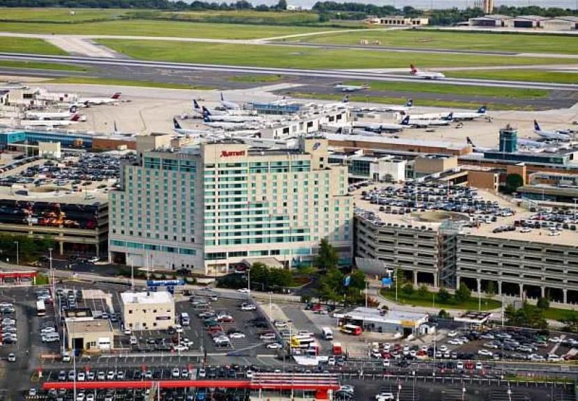 The Philadelphia Airport Marriott.