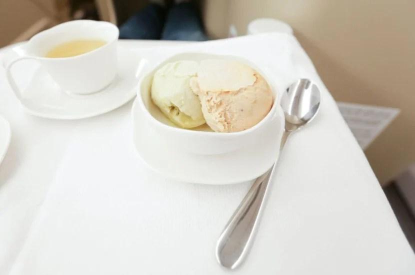The pistachio and praline ice creams were also decent.