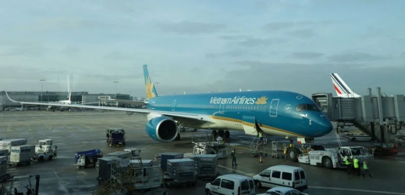 Review Vietnam A350 Business Class Paris To Hanoi