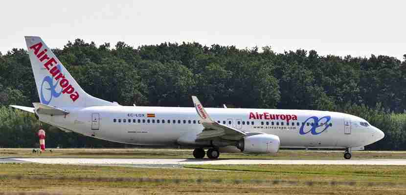 Status match with Air Europa.