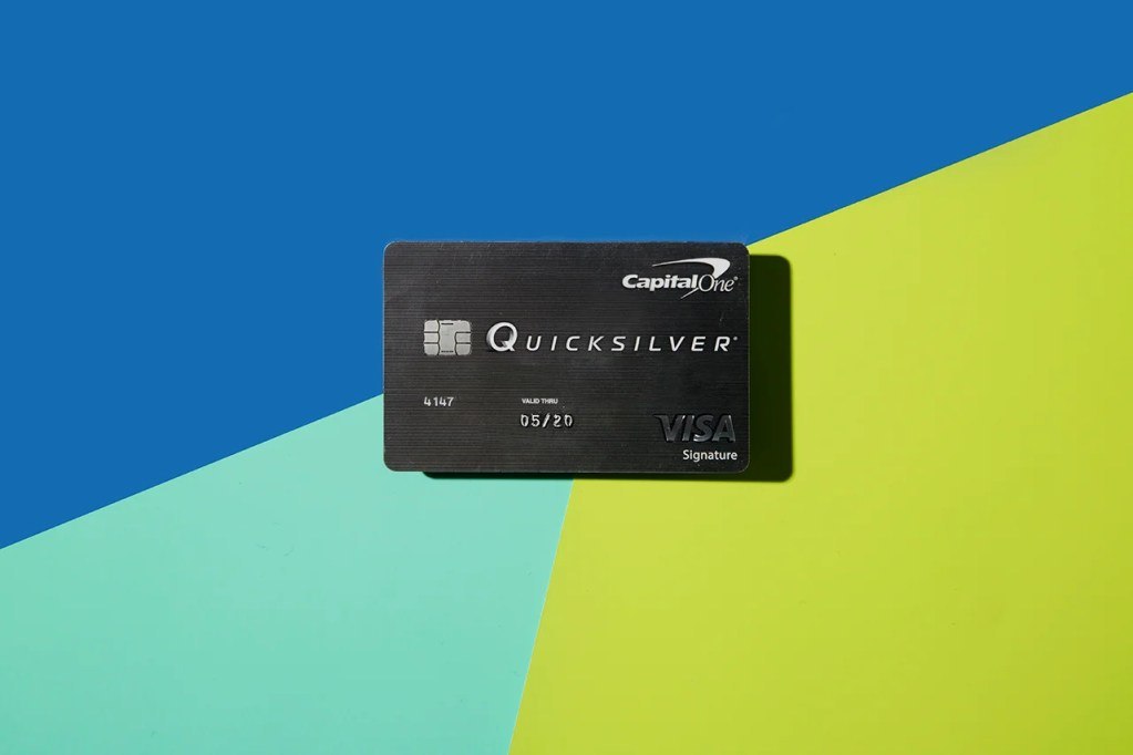 Photo By Eric Helgas For The Points Guy The Quicksilver Card From Capital One
