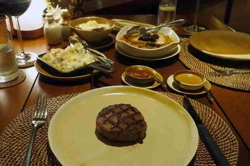 A very good, very expensive steak.