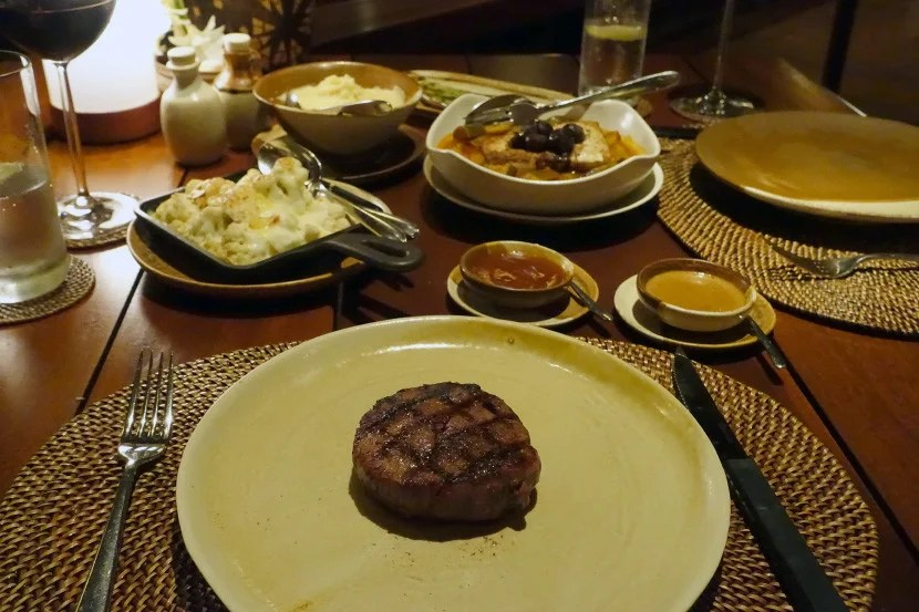 A very good, very expensive steak.