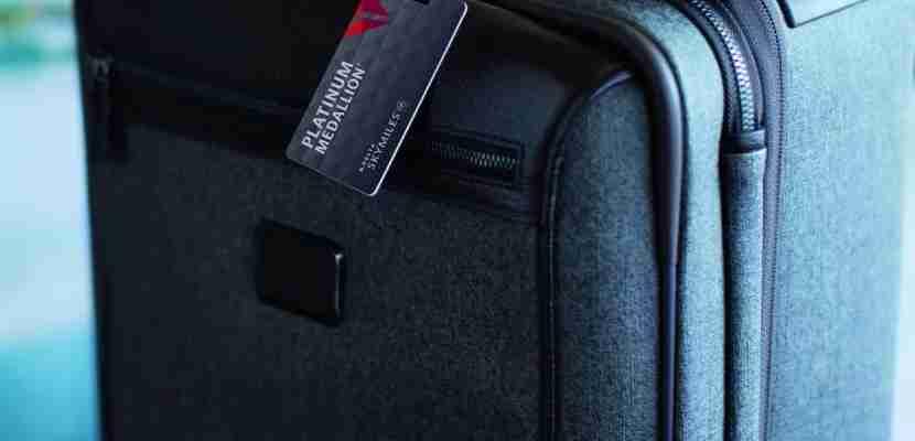 Delta Platinum Medallion Bag Tag featured