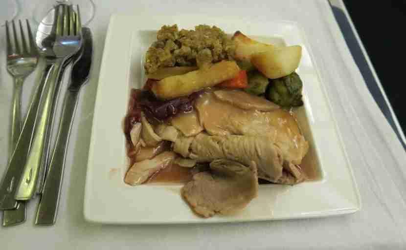 I still got to enjoya Christmas dinner thanks toBritish Airways!
