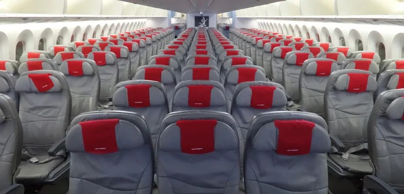 Norwegian's economy product is comfy on the 787 Dreamliner.
