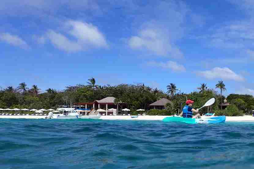 Kayak rentals are included in the rate.