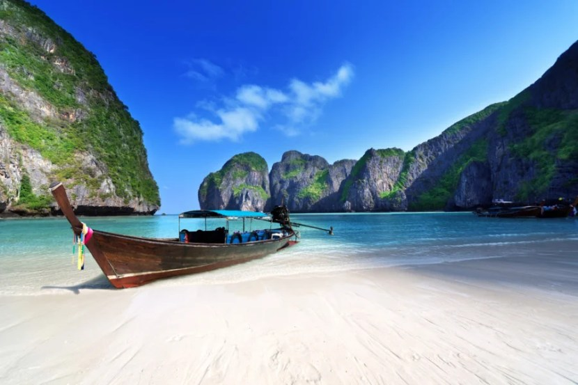 The Phi Phi islands are stunning, but may be crowded. Photo courtesy of Shutterstock.