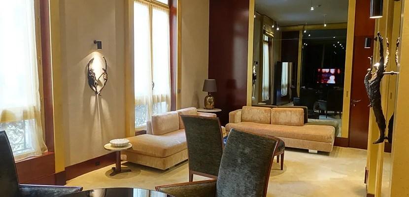 Hotel Review Park Hyatt Paris Vend 244 Me Diplomatic Suite