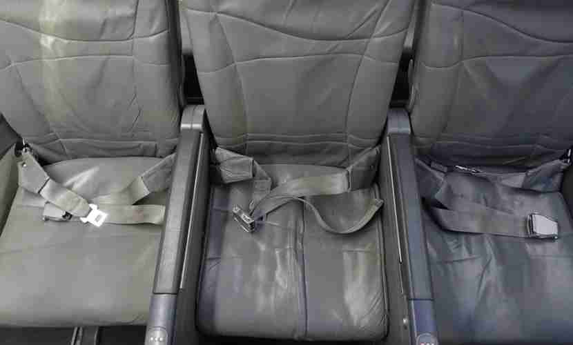 Bulkhead seating is not as wide as regular economy because the armrests don