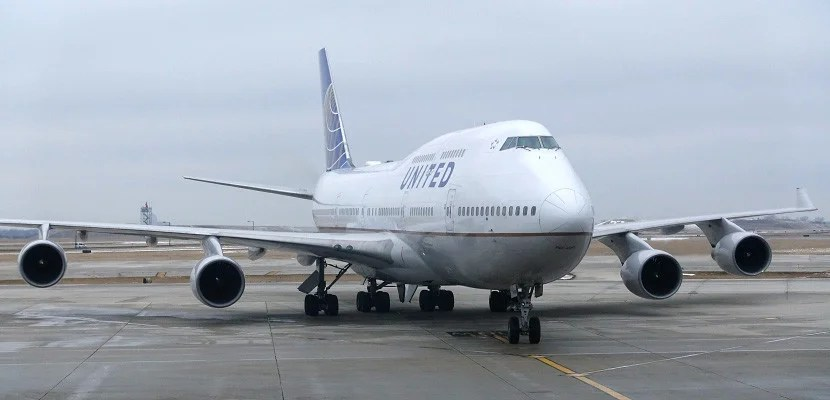 United is flying its 747 on select domestic routes.