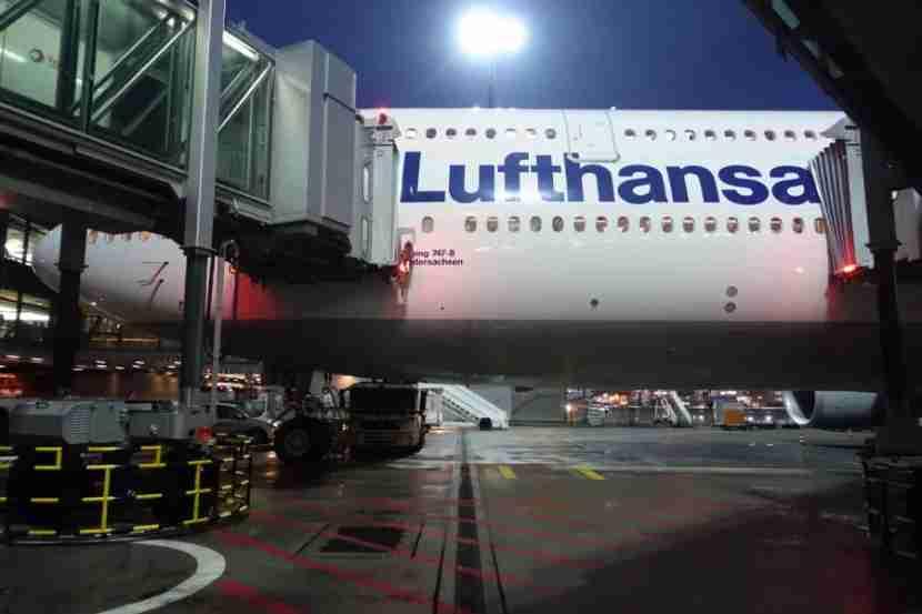 Outside Lufthansa