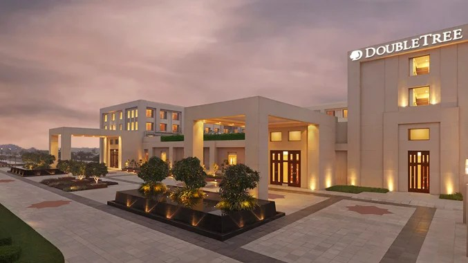 The DoubleTree by Hilton Hotel Agra in India.