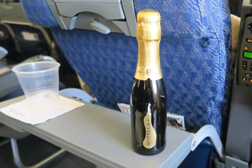 Sparkling win in economy? Yes, please.