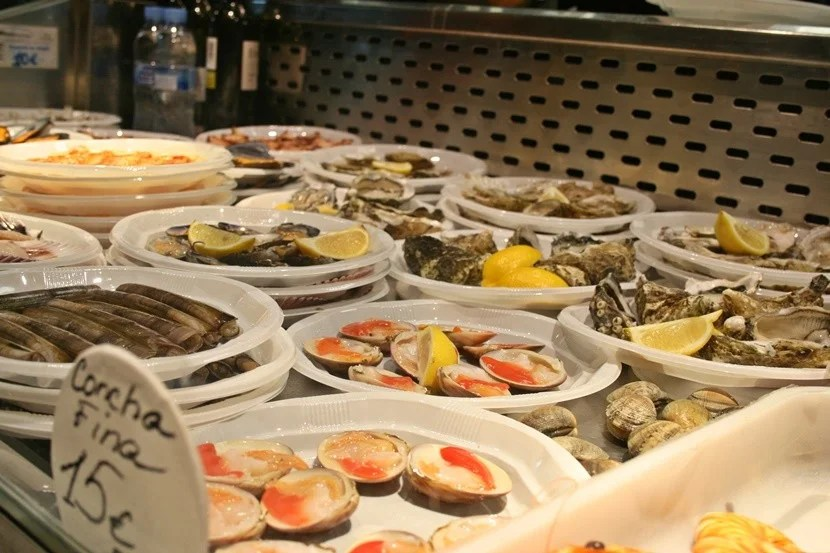 Spanish seafood delights.