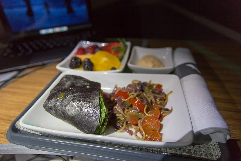 The cold mid-flight snack on AA definitely has significant room for improvement.
