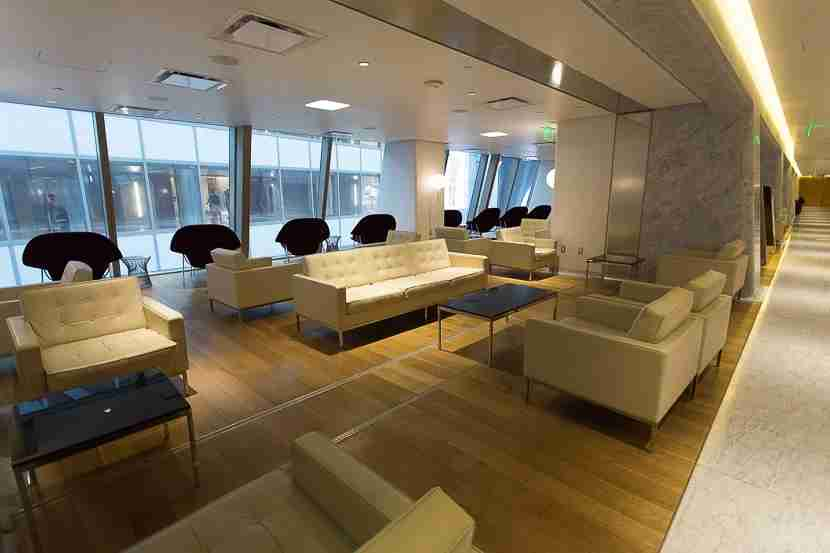 As an American Airlines Executive Platinum elite traveling internationally, I was able to use the Qantas International First Lounge.