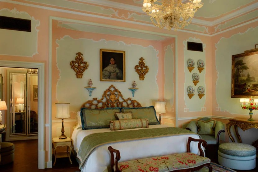 The Pisani Palazzo Canal Suite at the Gritti Palace. Image courtesy of Starwood.