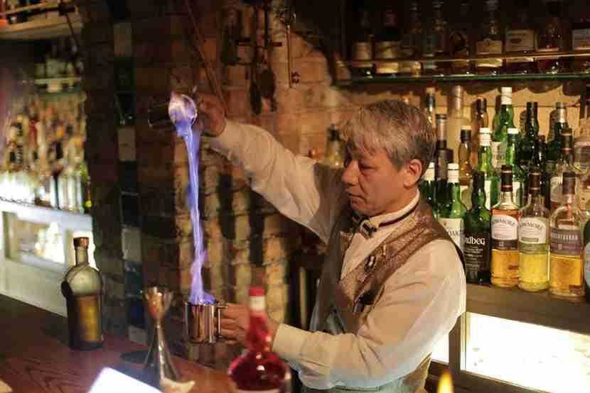 Grab a drink at the Masada Lounge.