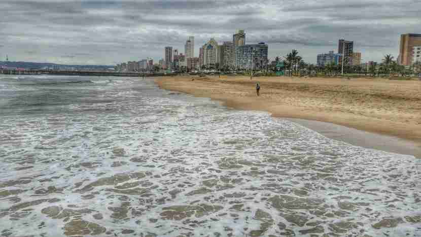 The Durban beachfront makes for a memorable photo. Image courtesy of the author.