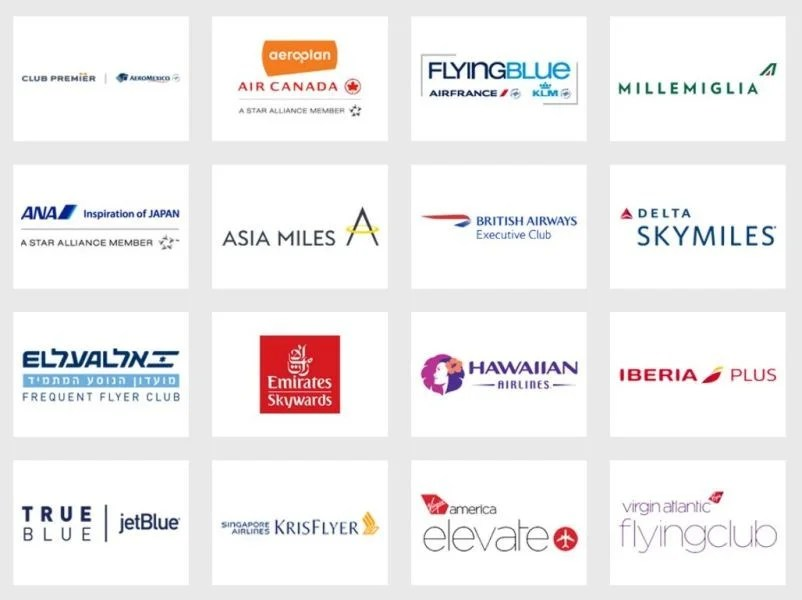 Amex's 16 other airline transfer partners.