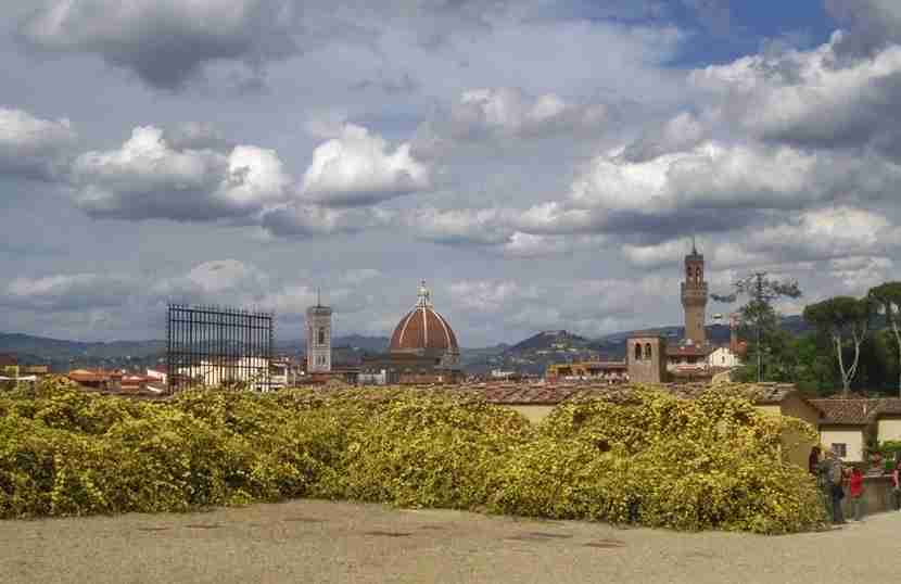 Florence and beyond beckon.