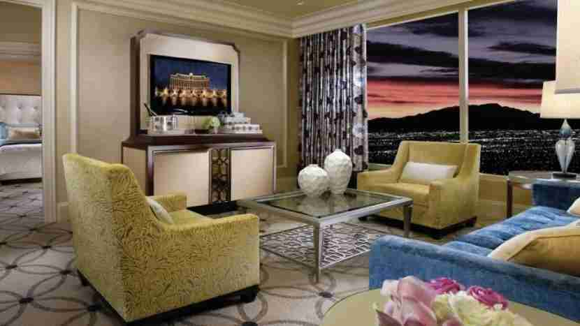 Stay in the 1,020 square foot Bellagio Suite for three nights.